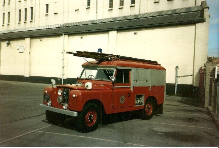 Land Rover Carmichael HRT ex BOCM 680 UHY