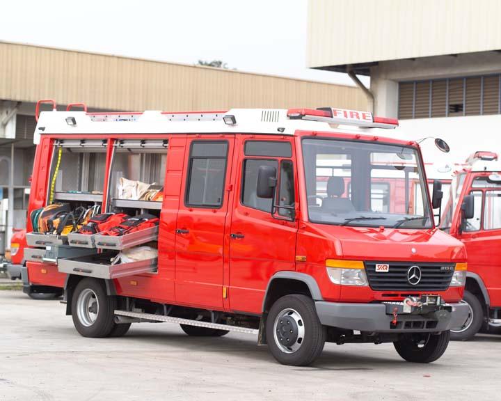 Mercedes Light Rescue Tender SK fire Hong Kong