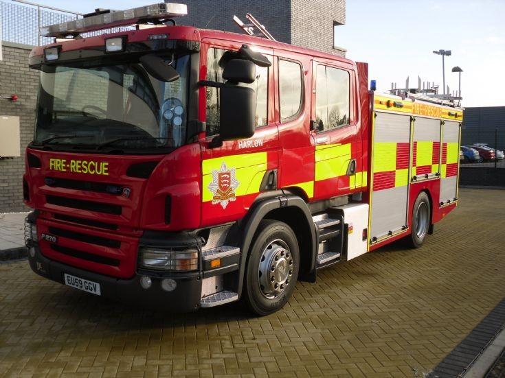 Scania Rescue Pump 2009