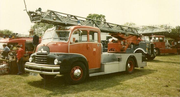 Bedford S/Morris Magirus Jersey FB SMK 885Y