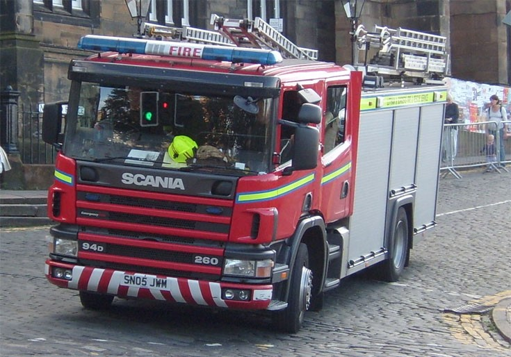 Scania Pump ladder - Edinburgh