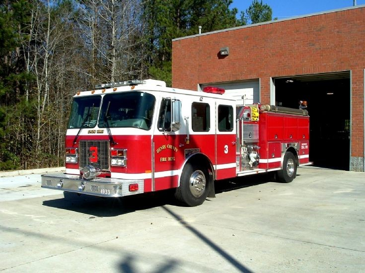Henry County Fire Department Engine 3