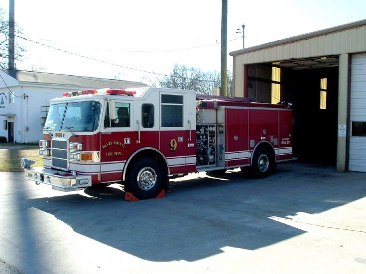 Henry County Fire Department Engine 9