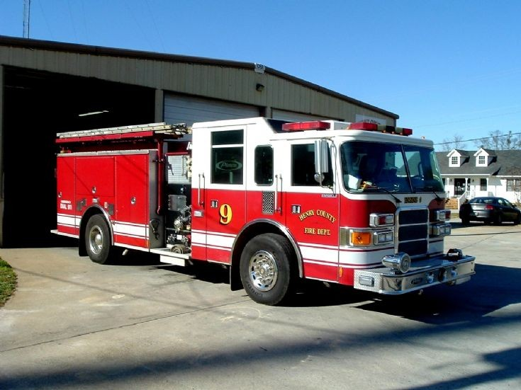 Henry County Fire Department Engine 9 Side