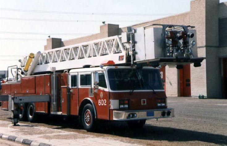 LTI ladder Kuwait Fire department
