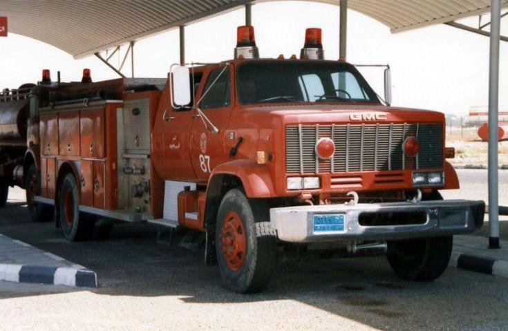 Kuwait Fire department GMC