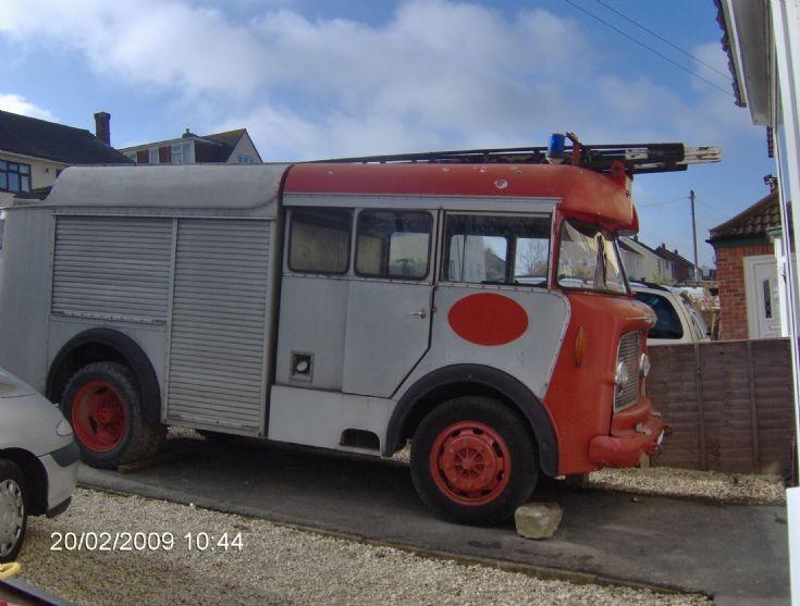 Bedford J5 Fire Engine