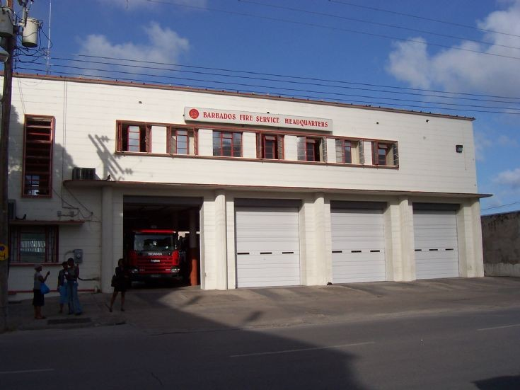 Barbados Fire Service Bridgetown station