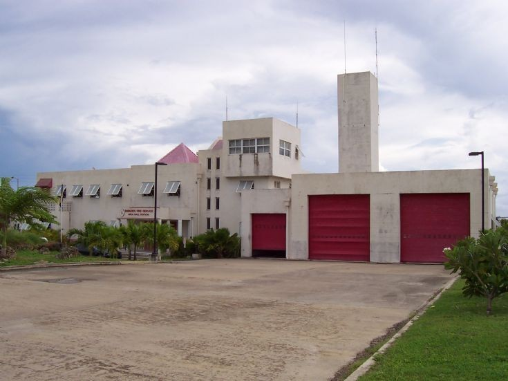 Barbados Fire Service Arch Hall station