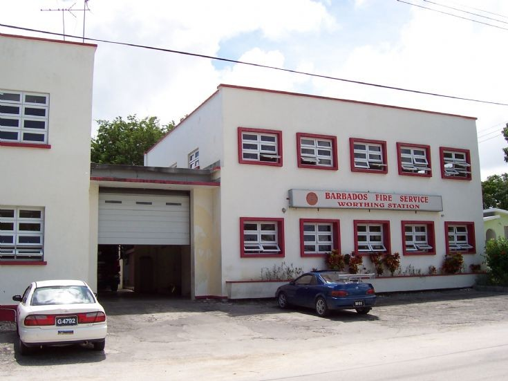 Barbados Fire Service Worthing Station