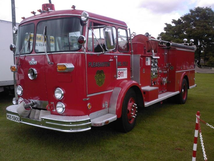 Crown Firecoach  Blairgowrie Scotland