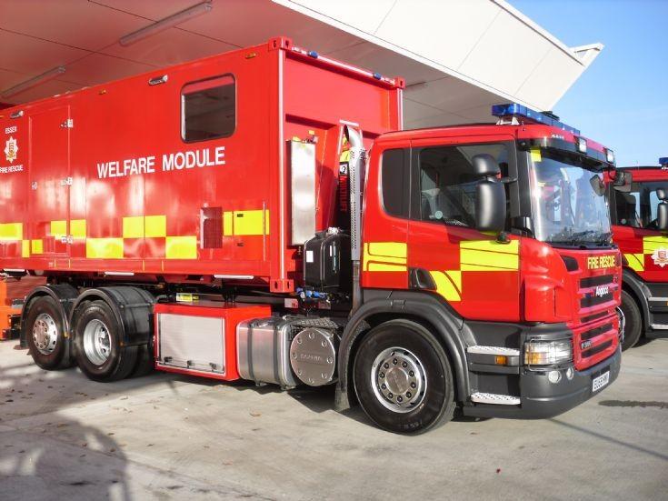 2009 Scania Welfare Module