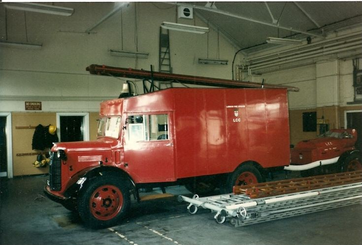 Austin K2 ATV Plaistow fire station London