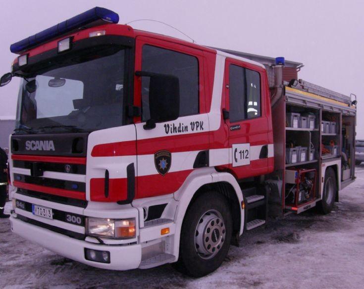 Scania P94G fire-engine VTG-313