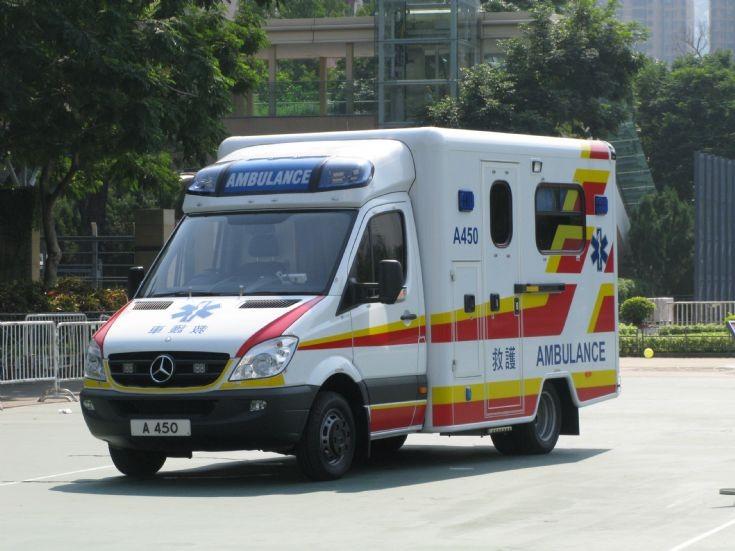 MB 518 Ambulance A 450