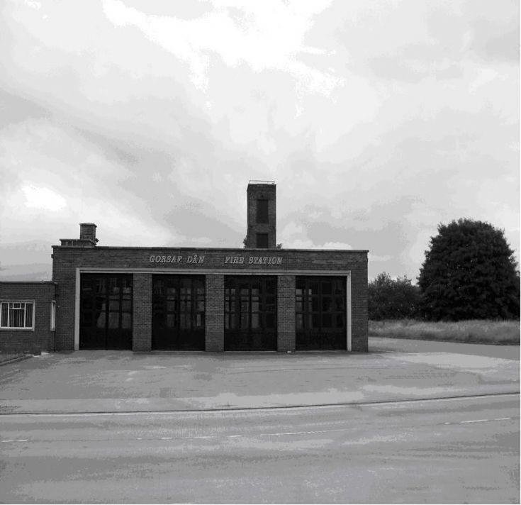 Flints new fire station 1960