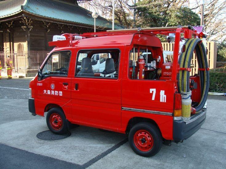 Fire Engines Photos - Tokyo Fire Department - small pump