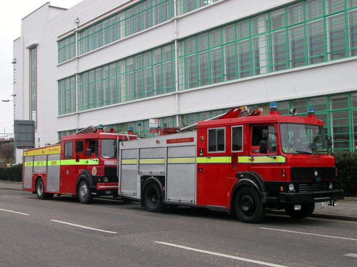 Image of the D822 FYM former London Fire brigade
