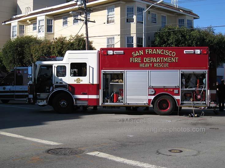 Heavy Rescue unit San Francisco.