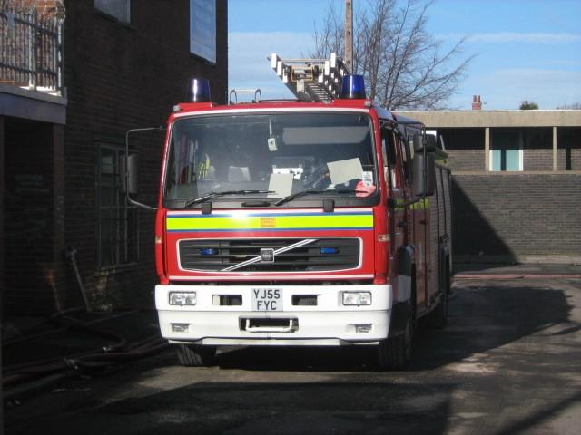 Dewsbury Rubbish Fire February 2010