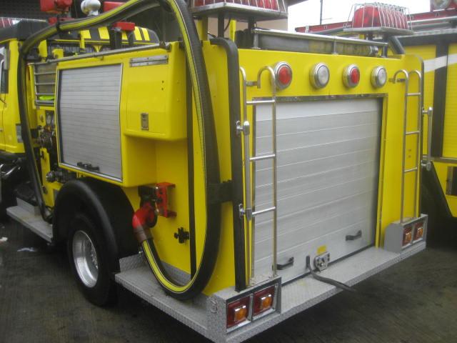 Hino Ranger Fire Engine (Rear View) Sta. Cruz Vol.