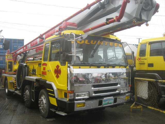 Fuso High Volume Fire Snorkel in Manila