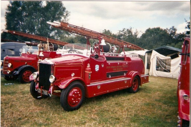 Albion Fire Engine