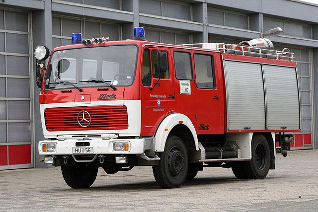 Image of the old TLF 16/25 Feuerwehr Langenselbold