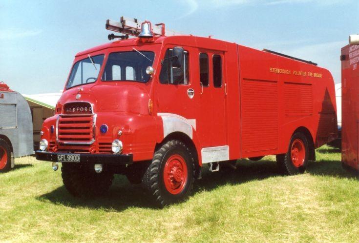 1966 Bedford 4x4  GFL990D