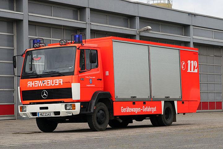 Image of the Haz-Mat unit Langenselbold Germany