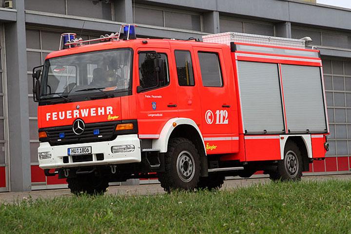 Image of Mercedes Benz watertender Langenselbold