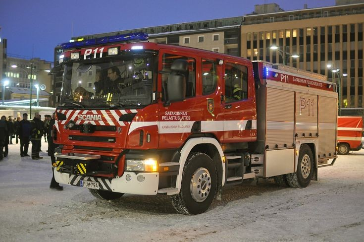 New Satakunta pumper/rescue