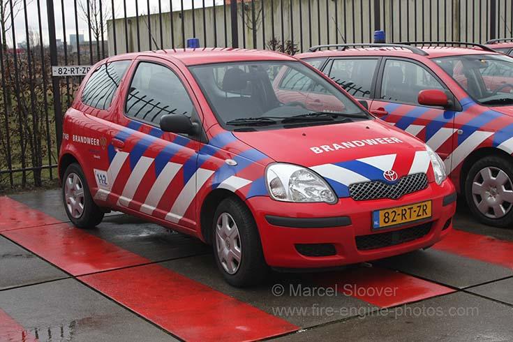 Brandweer Utrecht Toyota Yaris