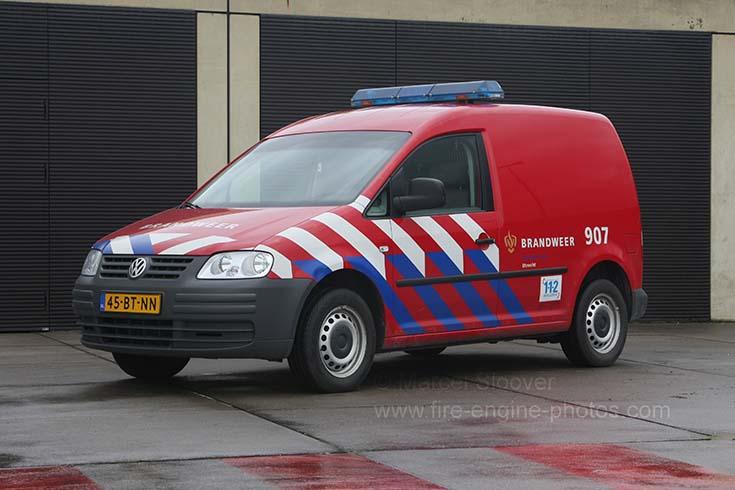 Brandweer Utrecht Volkswagen Caddy