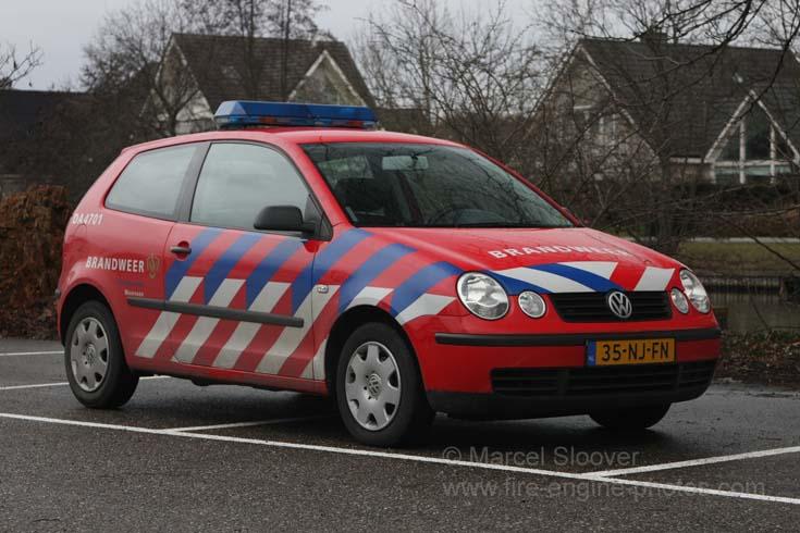 Brandweer Maarssen Volkswagen Polo 35-NJ-FN