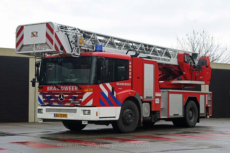 Brandweer Utrecht Mercedes Econic Magirus