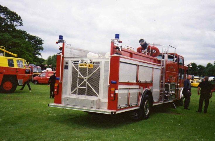 Rear view of N817 CAJ