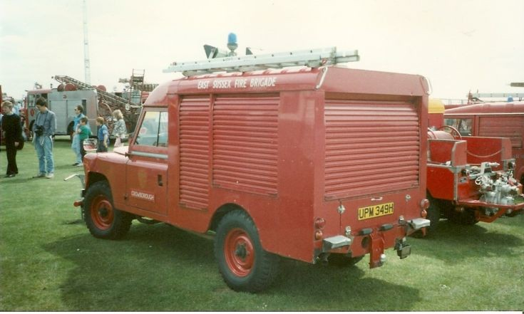 Land Rover/HCB-A RT East Sussex UPM 349H