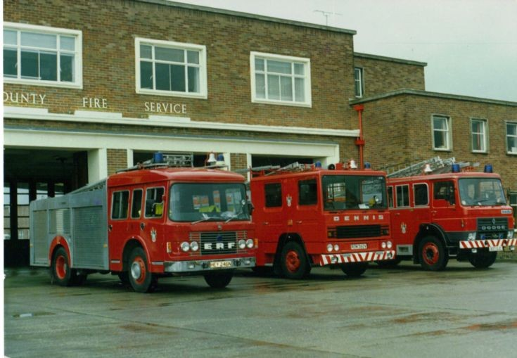 Classic line-up at Rhyl. July 1988