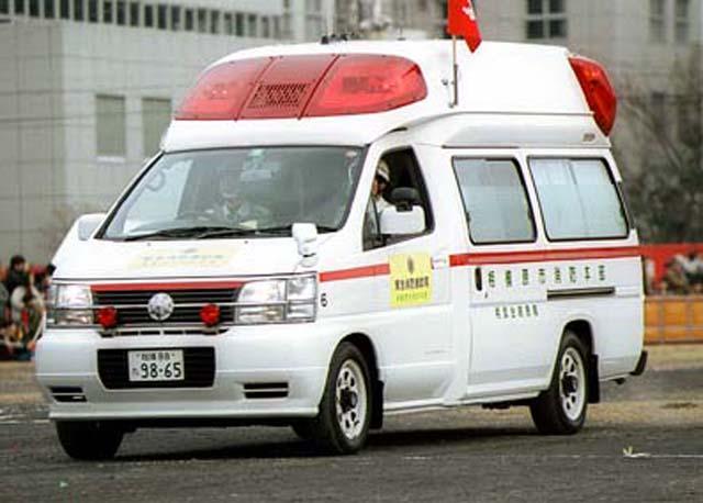Nissan Ambulance Fire department  Japan