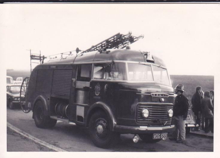 Gloucester Fire Brigade Commer WDG655