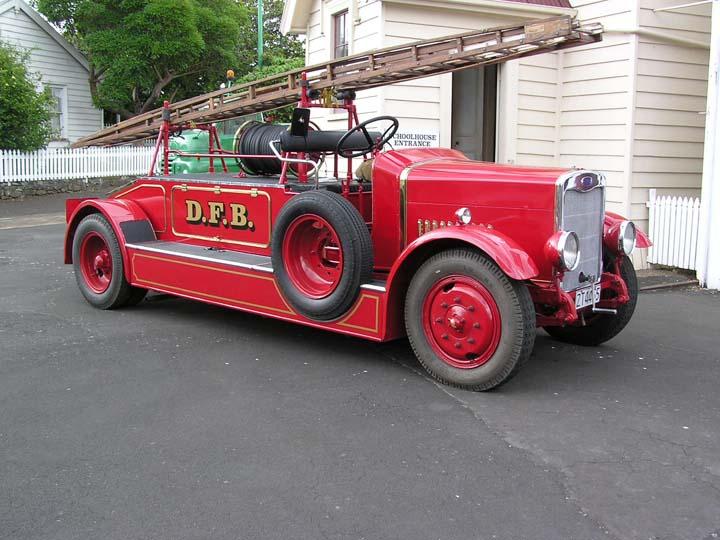 Image of Dennis Dart fire appliance New Zealand