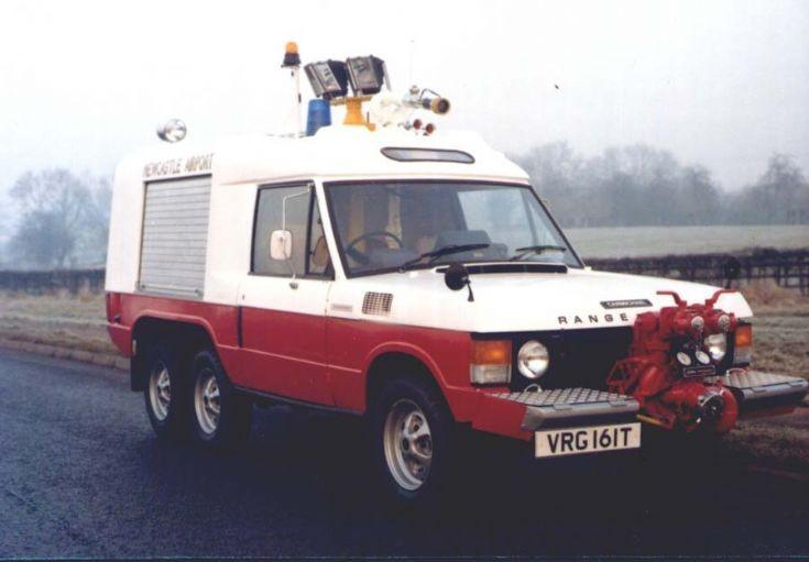 Newcastle Airport Carmichael Commando