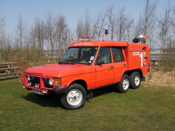 Carmichael Truck Airfield Crash Rescue Mk2a