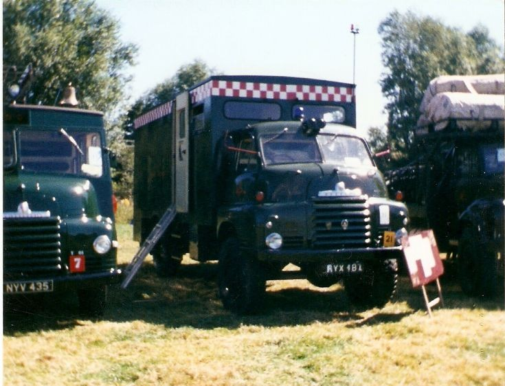 Photo of Odiham Fire Show in 1990