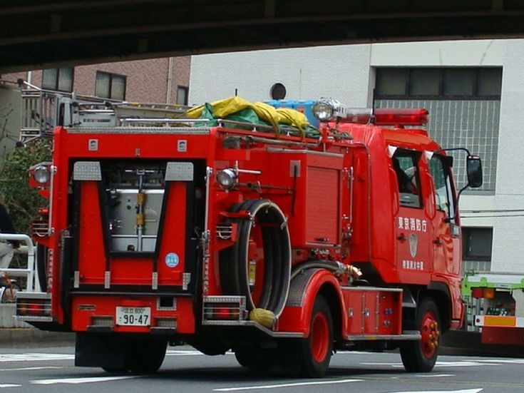 Tokyo Fire Department Hino Pumper