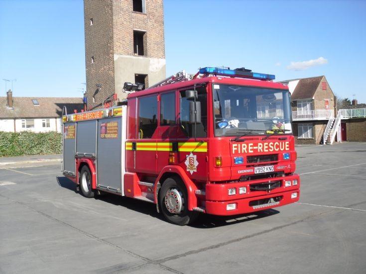 1999 Dennis Sabre Rescue Pump.