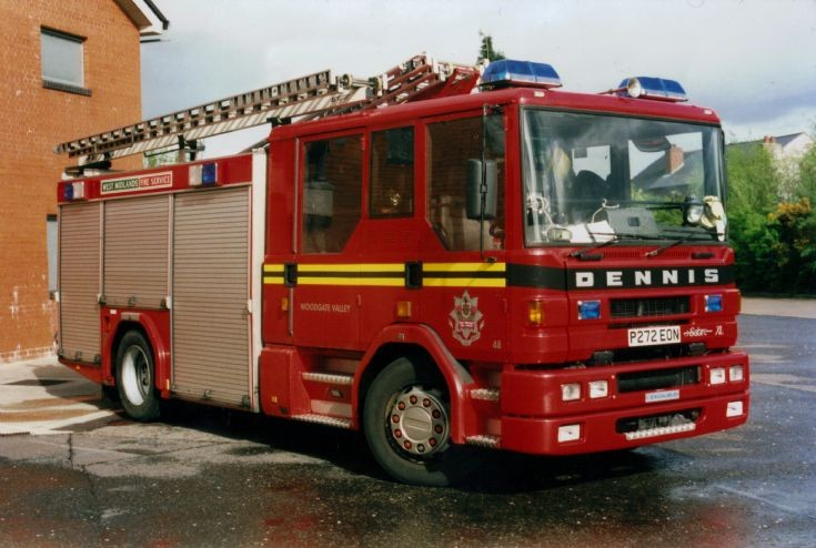 West Midlands Dennis SFD322 XL/Excalibur
