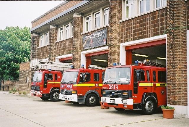 Dagenham Fire station London FB