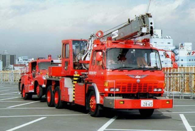 Hino Rescue Support Car